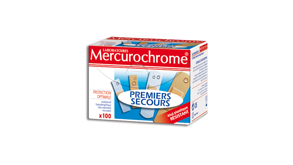 Pansements Mercurochrome
