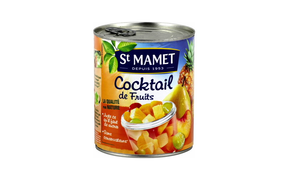 Cocktail de fruits de Saint Mamet